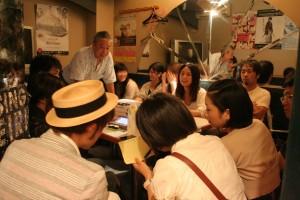 山崎アキラ先生のステージングレッスン:カラオケにて
